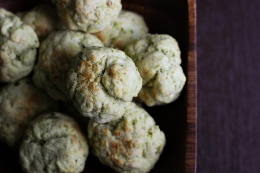 Savory Basil Lemon Cookies